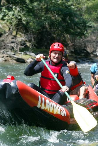 Foto Mas fent rafting